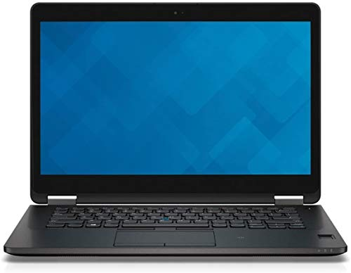 Notebook Dell Latitude E7470 da 14,0  - Intel Core i5-6300U 2,4 GHz (sesta generazione), 8 GB di RAM, 256 GB SSD, Intel HD Graphics 520, Windows 10 Professional, Wi-Fi (rinnovato)
