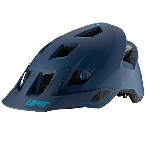 Adulto L Leatt MTB DBX 2.0 Casco Bici Unisex Black//Granite