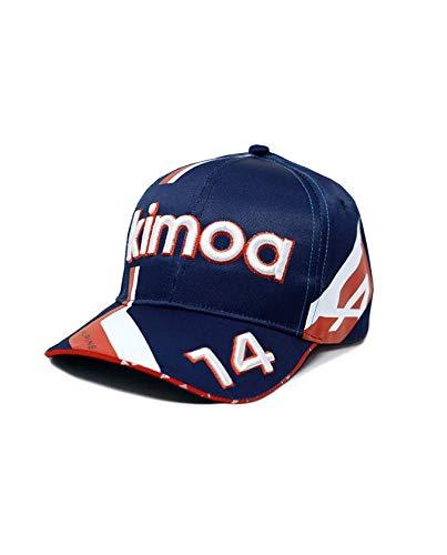 Kimoa - Gorra Curva FA Alpine Cup 2021 SB , Azul Oscuro, Talla Única, Unisex Adulto