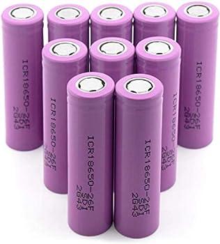 Best lithium ion 18650 batteries Reviews