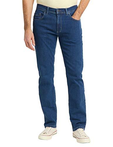 Pioneer Herren Rando MEGAFLEX Straight Jeans, Blau (Stone 55), 42W / 32L
