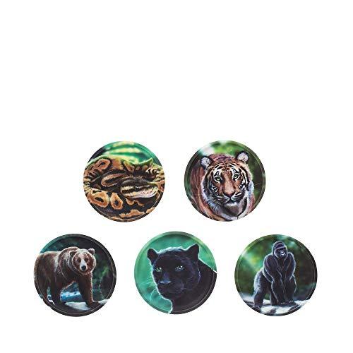 ergobag Klettie - Set, 5-Teilig, Klett, Dschungel