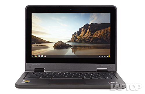 Lenovo Chromebook ThinkPad 11.6 Inch Rugged Tough book Educational Laptop Notebook (Intel Celeron, 4GB Ram, 16GB SSD, Camera, HDMI, USB 3.0) Chrome OS (Certified Refurbished)