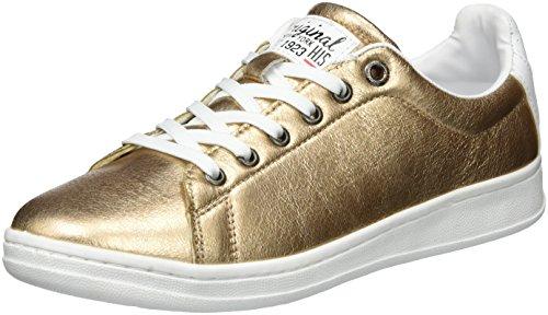 H.I.S Damen 16MCB003 Sneakers, Gold (Bronce), 37 EU