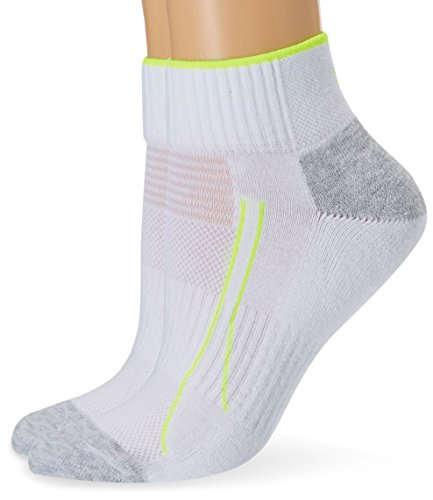 Puma Damen Sportsocken Performance Train, 2er Pack, Weiß, 35/38
