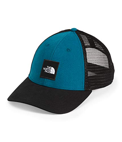 The North Face TNF Box Logo Trucker, Moroccan Blue/TNF Black, OS