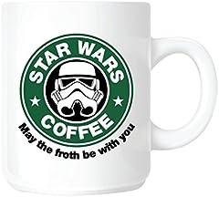 Top Banana - Taza (cerámica), diseño de Star Wars con el Logotipo de Starbucks Coffee