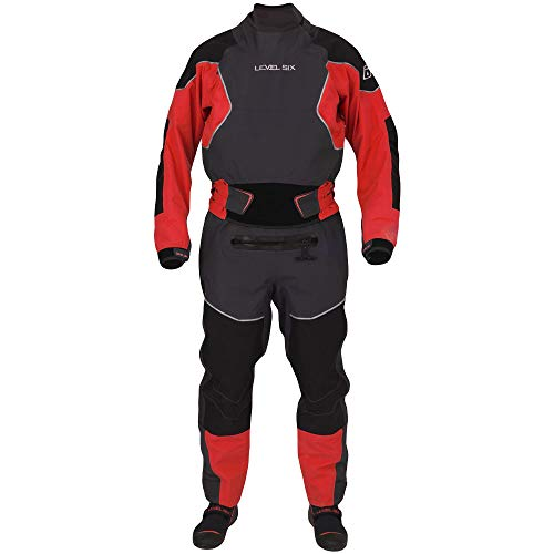 Level Six Emperor Dry Suit-MoltenLava-M -  Level 6, GMT-EMP2-MO-M