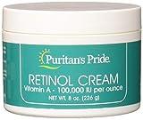 Puritans Pride Retinol Cream (Vitamin A 100,000 Iu Per Ounce), 8 Ounce