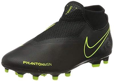 Nike Men's Footbal Shoes, Multicolour Black Black Volt 007, 7 UK