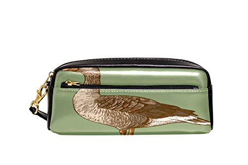DJROWW Retro Graveren Gans Pen Potlood Buidelzak Case Houder Cover, School Office Accessoires Student Stationery
