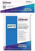 Ultimate Guard(アルティメットガード) Supreme UX スリーブ マット 標準サイズ 50枚 ロイヤルブルー