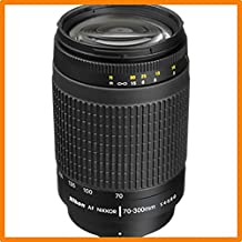 كاميرا نيكون بعدسة 70 - 300 ملم F4-5.6G