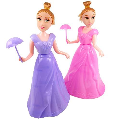 German Trendseller® Tanzende Prinzessin Puppe┃Aufziehspielzeug ┃Wind up doll ┃Girls Party┃ Mitgebsel ┃ Kindergeburtstag