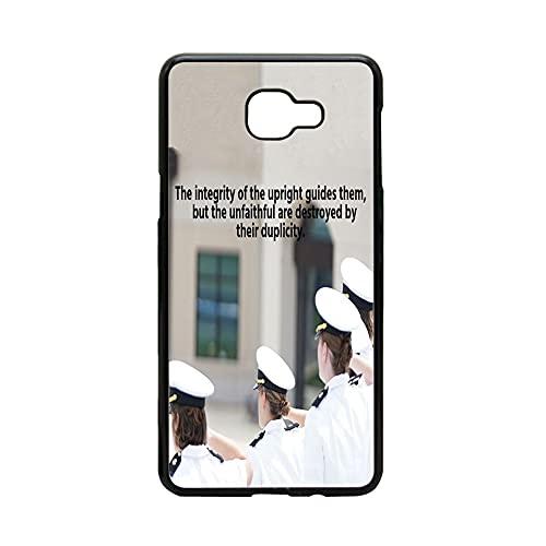 Hipster Caja Fuerte del Teléfono para Niños Compatible para Samsung A8 A5 2018 Impresión Upright