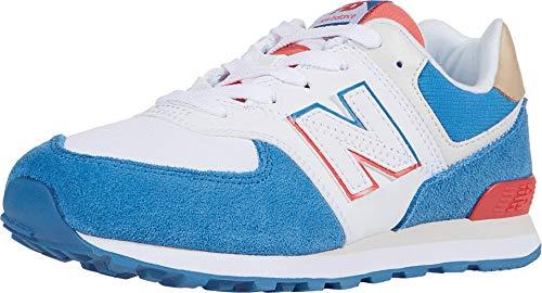 New Balance PC574SCF, Sneaker, Blue/Red, 31 EU