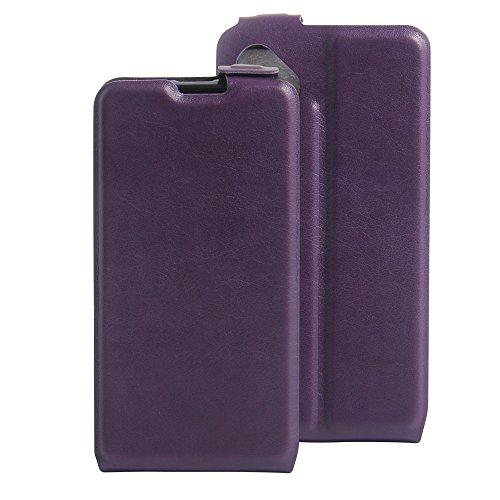 Litao-Case CN Hülle für wiko b Kool Sunny hülle Flip Leder + TPU Silikon Fixierh Schutzhülle Case 7