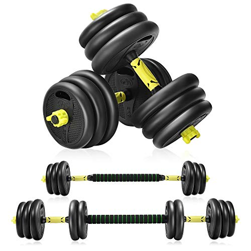 Adjustable Weight Dumbbells Set For Men And Women20KG Barbell Dumbellsweights SetStrength Training Equipment At Home Or Gym