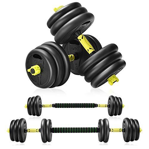 Adjustable Weights Dumbbells Set For Men And Women.20KG Barbell Dumbellsweights Set Home Gym