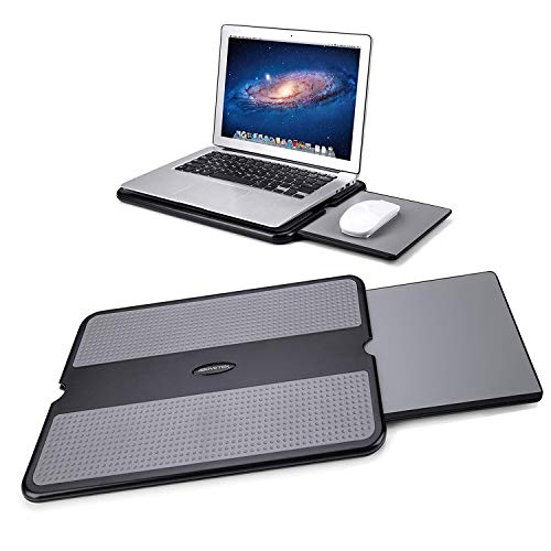 AboveTEK Laptopkissen,Kniekissen Laptop mit Maus Unterlage für Notebook MacBook Bett Sofa Couch Reise