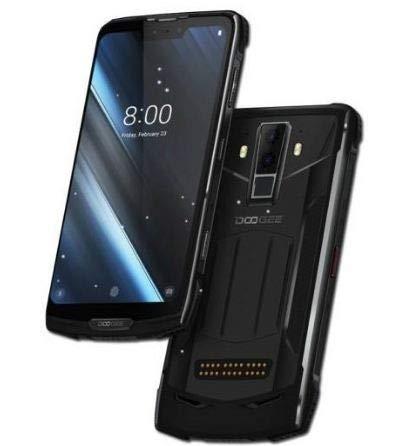 "DOOGEE S90C Android 9.0 Móvil Antigolpes - Helio P70 Octa-Core 4GB + 64GB, IP68 Impermeable Teléfono Resistente, Pantalla de 6,18"" FHD+, 16MP + 8MP, 5080mAh Batería, Carga Inalámbrica NFC GPS."