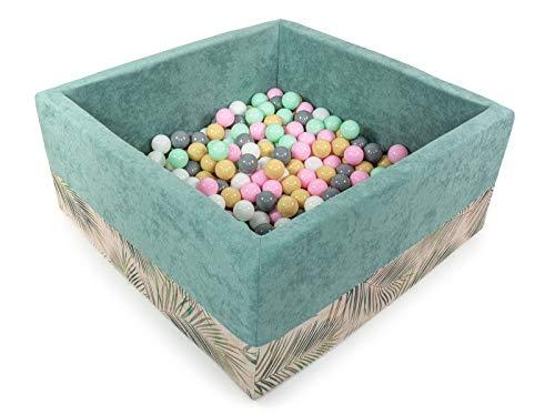 Fabriqu/é en EU Tweepsy B/éb/é Piscine A Balles pour Enfants Bambin 250 Balles 90x30cm Rond BKODP5
