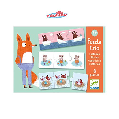 Puzzles  Trio Djeco
