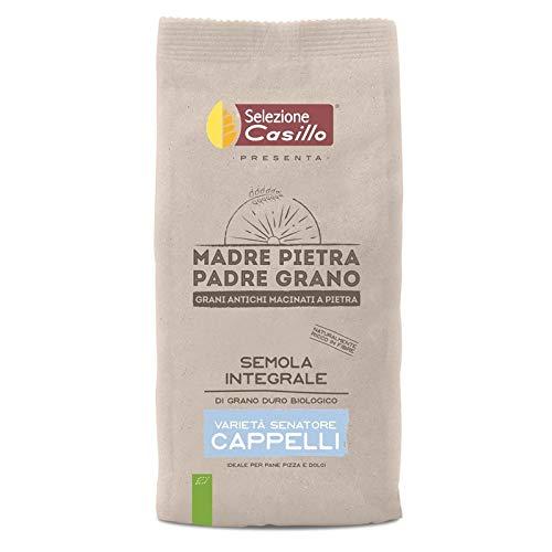 Sémola de trigo duro integral orgánica Senatore Cappelli 500 g - Selezione Casillo