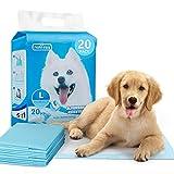 Nobleza - Empapadores Perros Alfombrilla higiénica de Entrenamiento para Perros. Ultraabsorbente 90cm*60cm, 20piezas