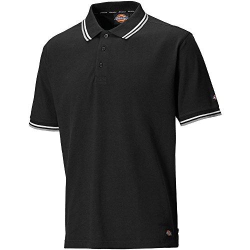 Dickies SH2001 BK M Polo-Shirt Riverton Größe M in schwarz, M