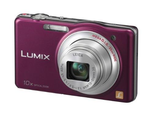 Panasonic Lumix DMC-SZ1EG-V Digitalkamera (16 Megapixel, 10-fach opt. Zoom, 7 cm (2,9 Zoll) Bildschirm, bildstabilisiert) aubergine