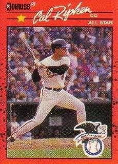 1990 Donruss #676B Cal Ripken AS/Recent Major/League Performance Near Mint/Mint