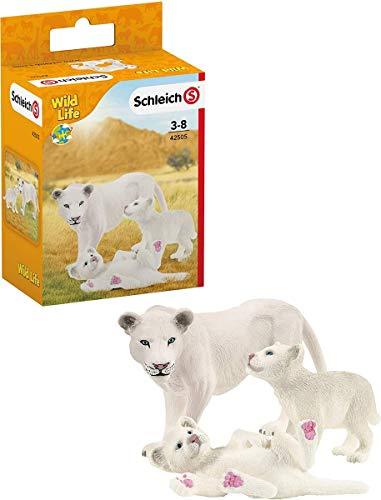 SCHLEICH 42505 Löwenmutter mit Babys Wild Life