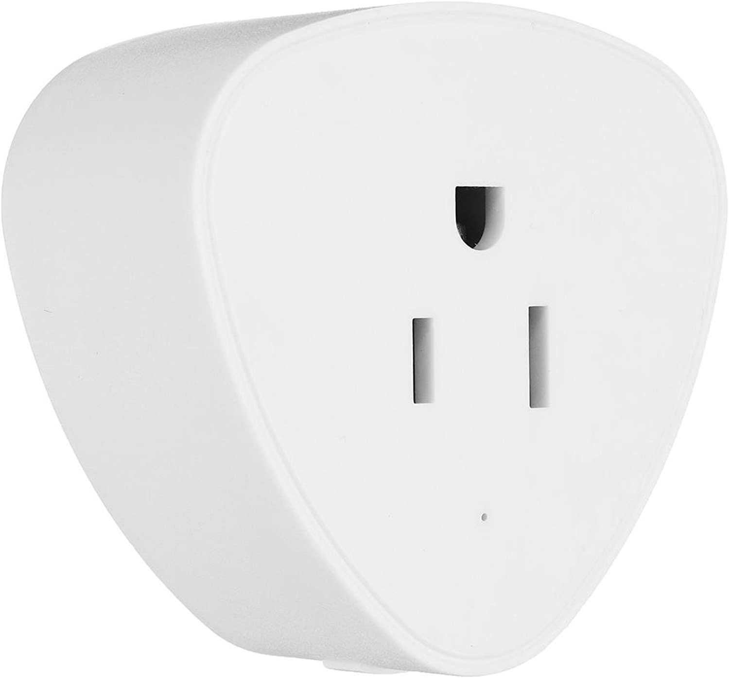 220V 10A Wireless Mini Switch Remote Control Timer Outlet US WiFi Smart Plug Smart WiFi Socket  Tools & Home Improvement Switches & Sockets  1x WiFi Smart Socket