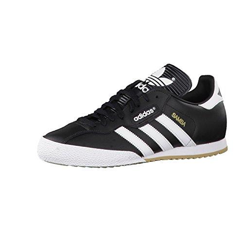 adidas Samba Super, Zapatillas para Hombre, Negro (Black/runwht), 43 1/3 EU