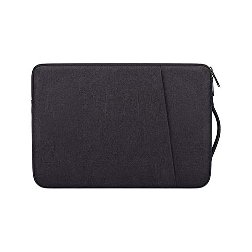 WSY Laptop Bags Notebook Pouch Case For 13.3' 14' Acer Aspire R13 S13 V13 Chromebook 14 514 714 Spin 3 5 7 14 15 Inch Handbag Sleeve (Color : Black, Size : Fit 15.6 inch)