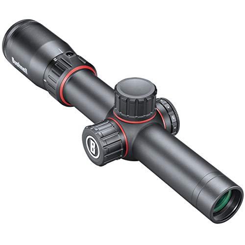 Bushnell Nitro 1-6x24 Zielfernrohr Leuchtabsehen 4A - 30 mm Mittelrohr - Voll vergütet bis 92% Transmission