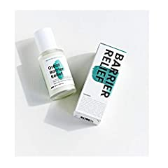 Great Barrier Relief is a skin-soothing serum that restores your damaged skin barrier while evening out your complexion. This nourishing formula offers irritated skin a reset button by using tamanu oil and other ingredients that mimic a healthy barri...