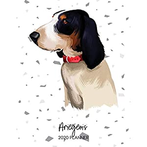 Ariegeois 2020 Planner: Dated Weekly Diary With To Do Notes & Dog Quotes (Awesome Calendar Planners for Pup Owners - Pedigree Breeds) 2