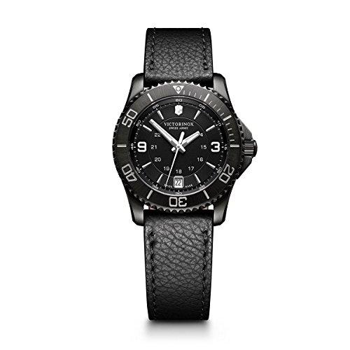 Victorinox Swiss Army Maverick Two-Tone Stainless Steel Women's Watch, 34mm, Green