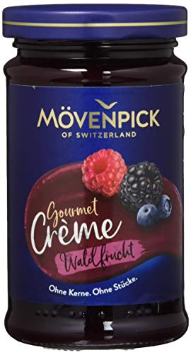 Mövenpick Gourmet-Crème Waldfrucht Fruchtaufstrich, 8er Pack (8 x 250 g)