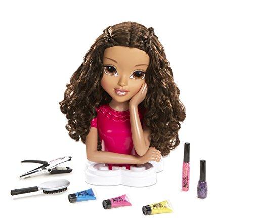 Moxie Girlz, Tête à Coiffer Sophina, longs cheveux à coiffer et colorer, ongles à vernir, Accessoires coiffures, pour toi aussi, Jouet pour Enfants dès 5 Ans, 1496