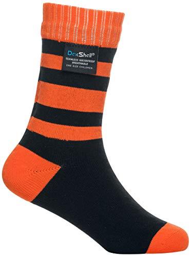 Dexshell Kinder Smart Socken S Tangelo Stripe