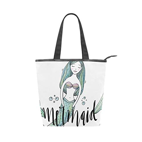 LUPINZ Schöne Meerjungfrauen-Handtasche für Mädchen