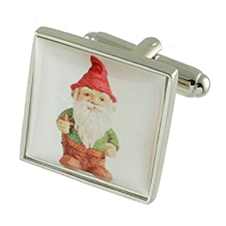 links Garden Gnome Cufflinks Select