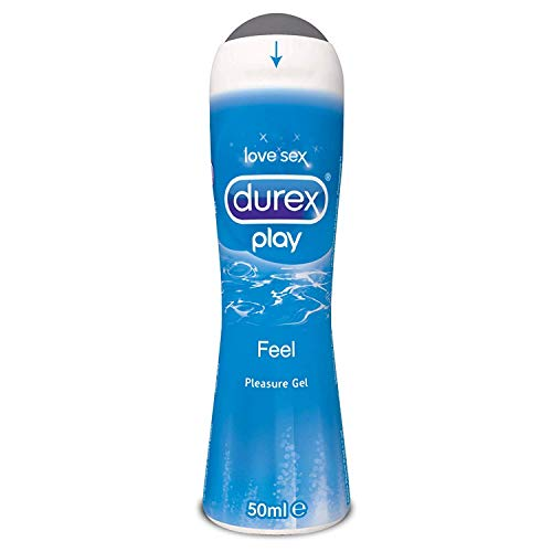 Durex Pleasure Gel Lubrificante Intimo, Play, 50 ml