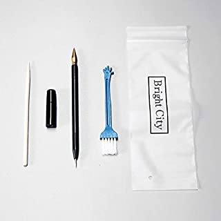 Matériel Inoffensif 4 PCS/Set Outil de peinture Scratch Scratch Pen Détails de la réparation du stylo Le stylo Raclage Pei...