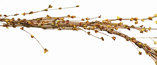CWI Gifts 60' Artificial Willow Sprouts Wispy Garland, Multicolor
