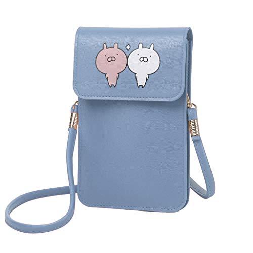 Gofodn Touch Screen Mobile Phone Bag Women Crossbody Bag for Women Lightweight Mini Shoulder Bags Small