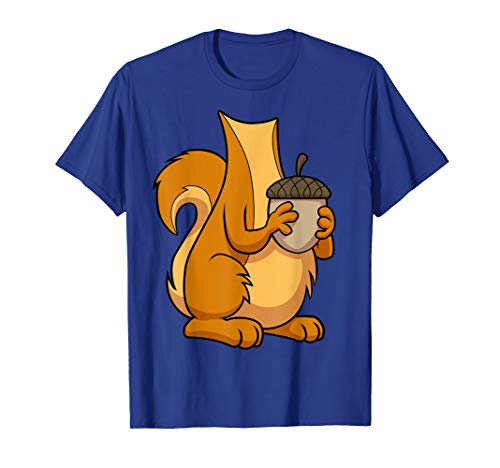 Eichhörnchen Kostüm T-Shirt für Halloween Eichhörnchen Tier Tee